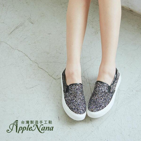 AppleNana。歐美部落客最愛進口晶亮加厚底輕量懶人樂福鞋【QCA138061380】蘋果奈奈 0