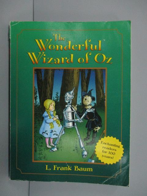 ~書寶 書T1/原文小說_NPC~The Wonderful Wizard of Oz