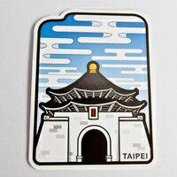 【〒台灣神】 台灣旅行明信片。中正紀念堂★GRAPHIC POST CARD★
