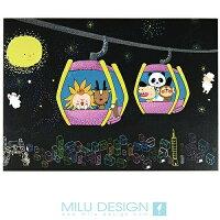【MILU DESIGN】+PostCard>> 星夜貓纜明信片 ★MAOKONG NIGHT★ 0