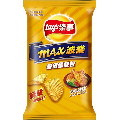 樂事max波樂洋芋片-香酥雞腿97g【愛買】