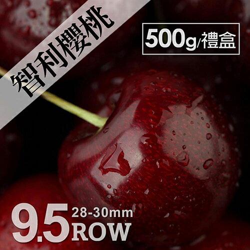 ☆10倍點數送☆【築地一番鮮】空運智利櫻桃500g禮盒(28-30mm) 加購第2盒折後↘310元