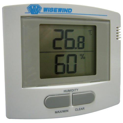 WISEWIND 銀盾型- 室內溫溼度計