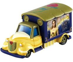 X射線【C886082】Tomica 美女與野獸Beauty and the Beast宣傳車 ,玩具車/ 迴力車/模型/玩具