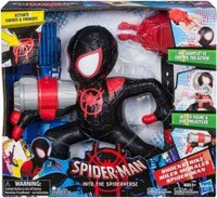 Marvel 玩具與電玩推薦到(卡司 正版現貨) MARVEL 漫威 蜘蛛人 新宇宙 動畫電影 電子動作人物 黑蜘蛛人就在卡司玩具推薦Marvel 玩具與電玩
