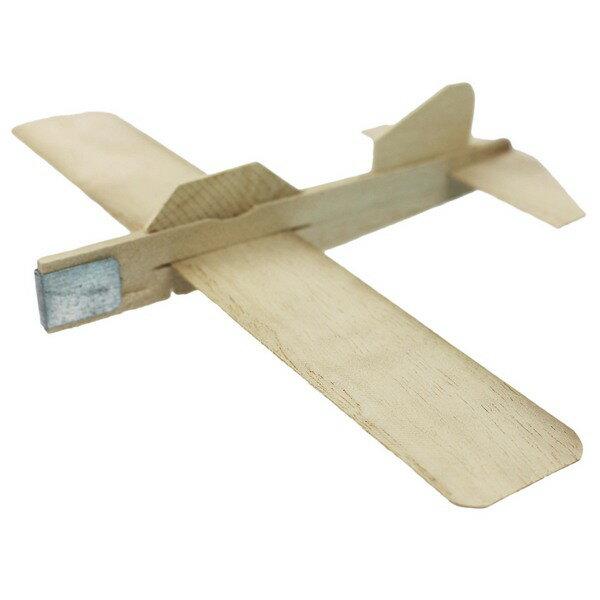 DIY木板飛機 木板彈射飛機 彩繪飛機/一個入{促30} 木板模型飛機 空白飛機~5065