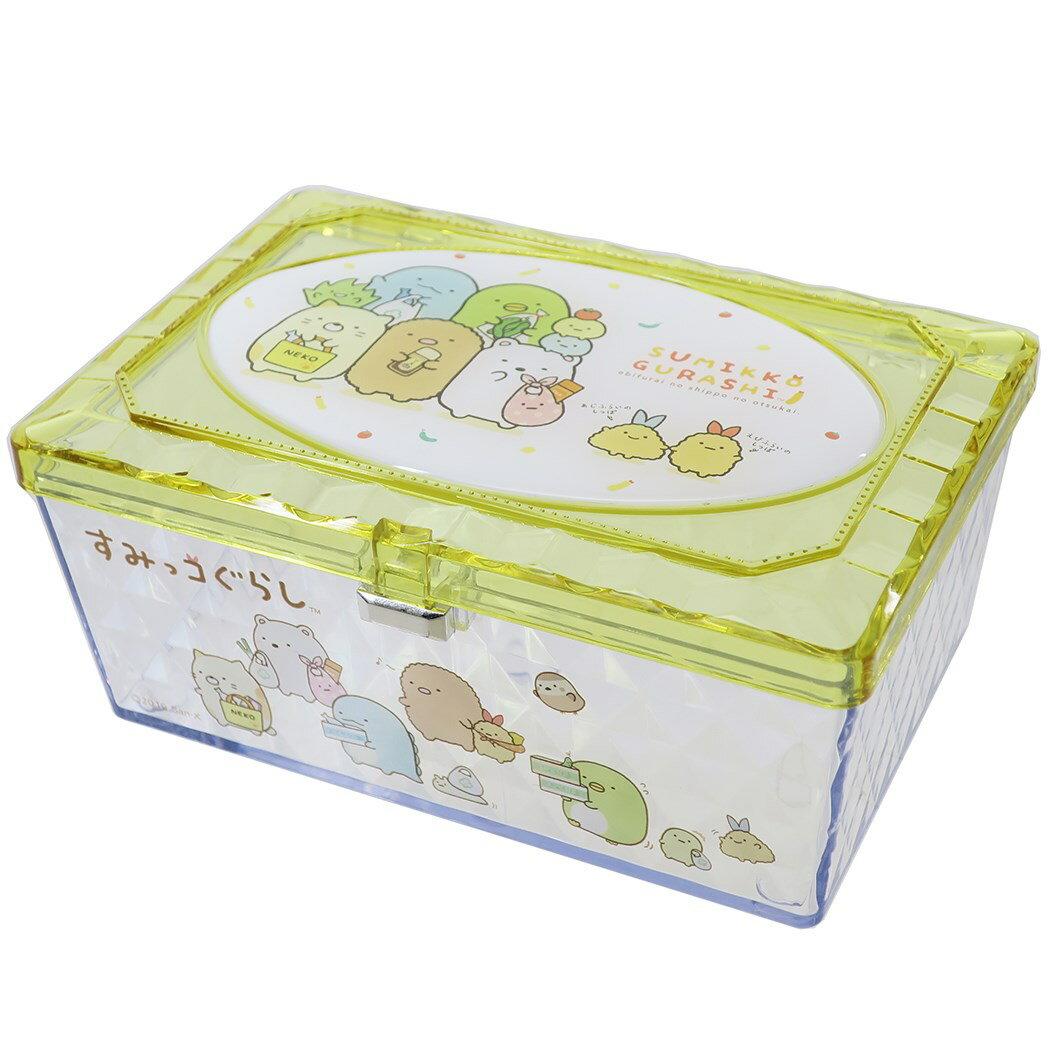 X射線【C481865】角落生物 Sumikko Gurashi 透明小物收納盒,置物櫃 收納櫃 收納盒 抽屜收納盒 收納箱 桌上收納盒