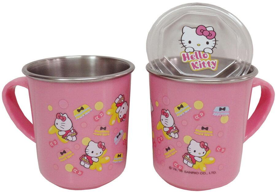 Hello Kitty不鏽鋼蓋杯^(^#304不鏽鋼^)
