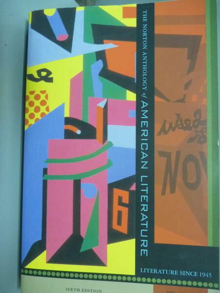 【書寶二手書T1/原文書_PIT】The Norton Anthology…Volume:E_Nina Baym