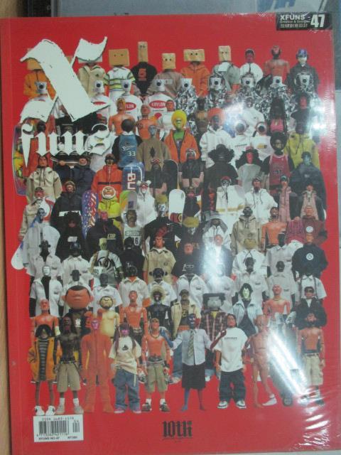 【書寶二手書T1/設計_YBX】Xfuns放肆創意設計_47期_角色:設計師玩具