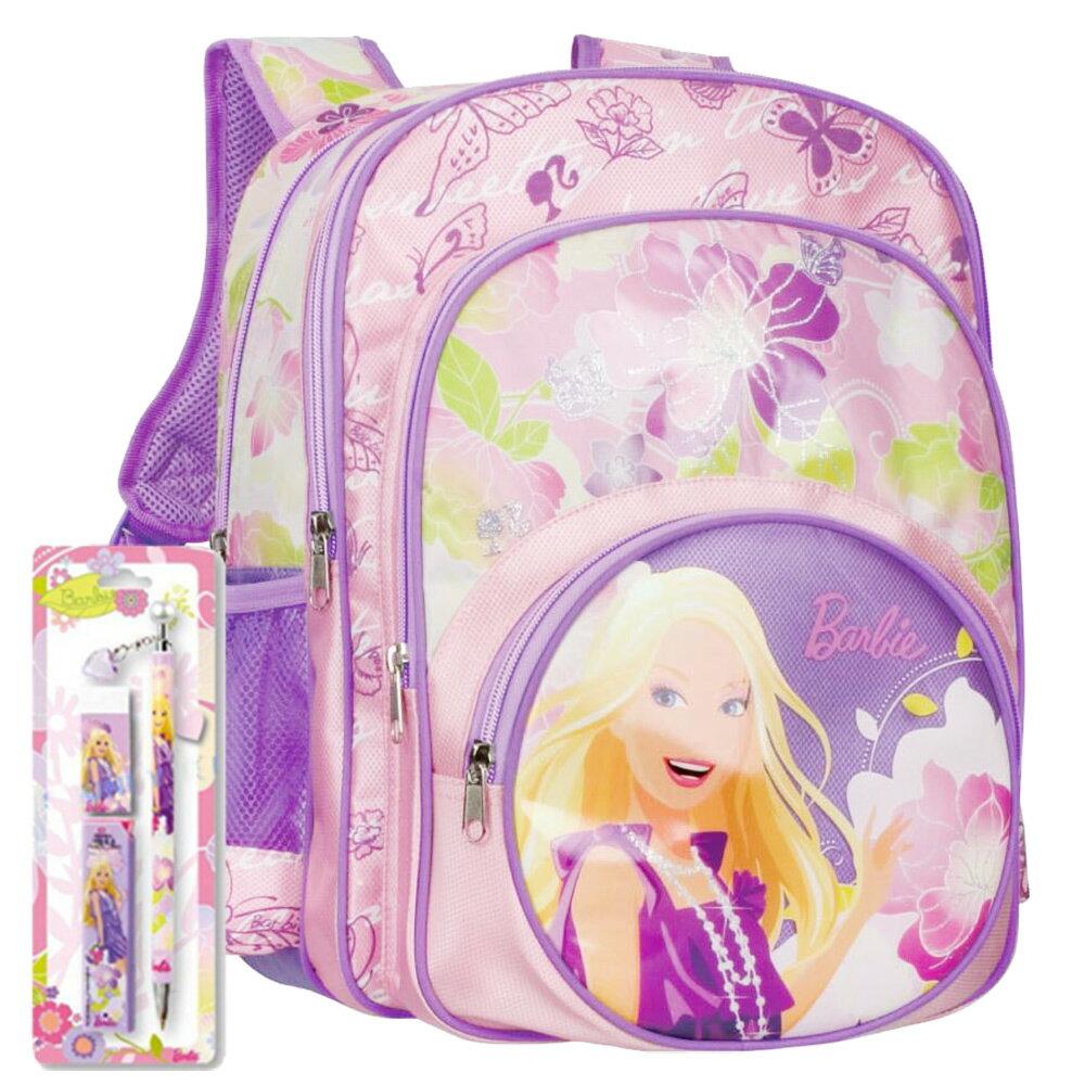 芭比Barbie 花開富貴書包文具組B(BLA272833C)