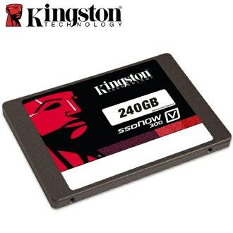 【最高現折$850】金士頓 Kingston SSDNow V300 240GB 2.5吋 SATA3 SSD 固態硬碟