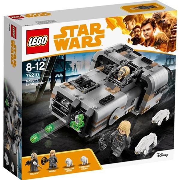 75210【LEGO 樂高積木】星際大戰Star Wars系列-Moloch s Landspeeder