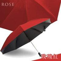 防曬抗UV陽傘到反向自動折傘-玫瑰紅 久大傘業 反向傘 抗UV 超潑水 (11色可選)就在久大傘業推薦防曬抗UV陽傘