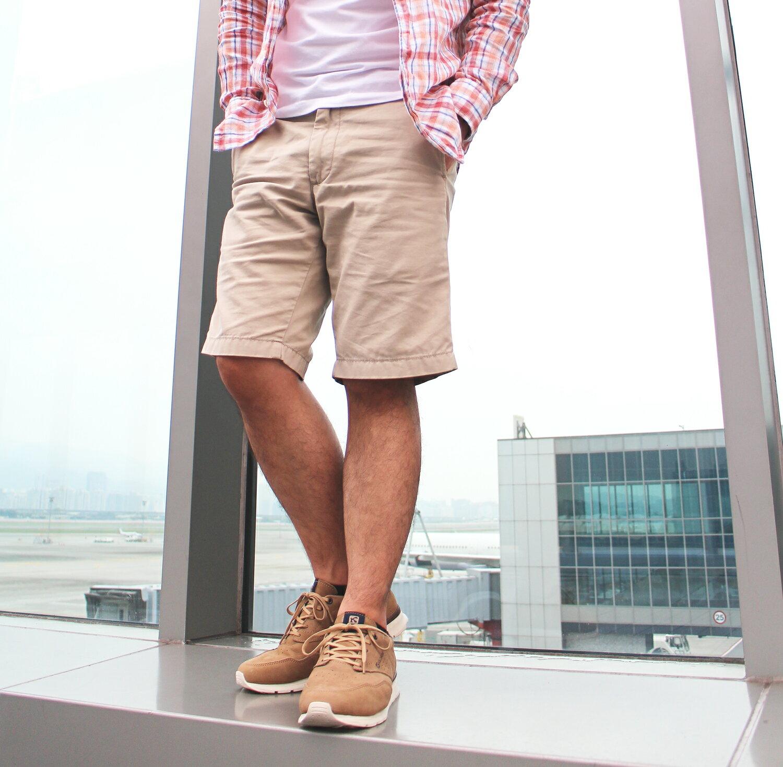【全店點數15倍送】Kildare 巴西綁帶休閒鞋 淺棕 男 慢跑 3