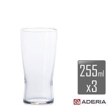 【ADERIA】薄吹啤酒杯-S x3入組 B-6769 / 日本製 石塚哨子 耐溫120度 玻璃杯 紅酒 小酌 宴客