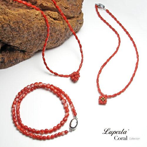大東山珠寶 頂級阿卡珊瑚 桶珠珊瑚項鍊 6