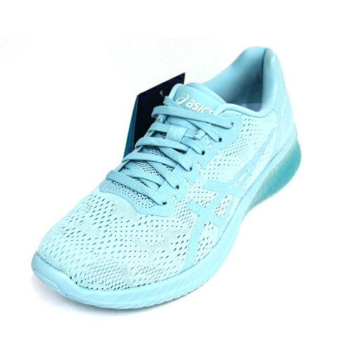 【ASICS亞瑟士】女慢跑鞋GEL-KENUNMX運動鞋輕量訓練鞋避震透氣T888N-1414藍[陽光樂活]