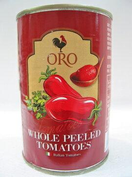 義大利ORO去皮整顆蕃茄400公克/罐