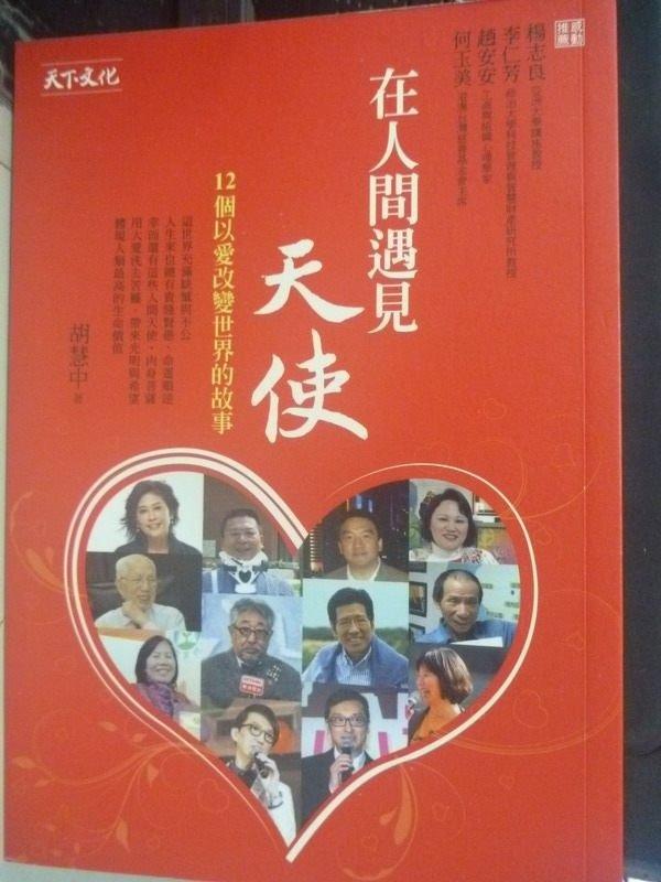 【書寶二手書T4/勵志_IDH】在人間遇見天使:12個以愛改變世界的故事_胡慧中