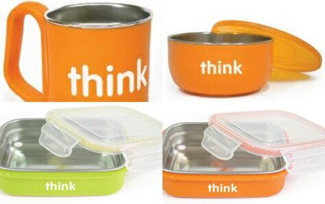 兒童餐碗-Baby Joy World-美國thinkbaby BPA Free Soup Bowl 無毒不銹鋼兒童餐具- 無塑化劑