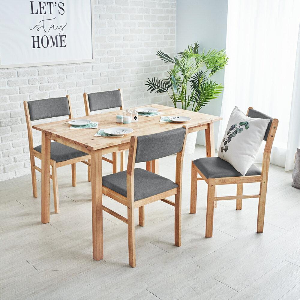 【馬來西亞Shenshan】Gloria簡約質感桌椅組(一桌四椅) / 2色 / H&D東稻家居 / 好窩生活節 2