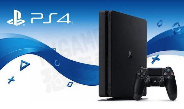 SONY PS4 SLIM 新版 主機 CUH-2117 500G 極致黑 黑色 台灣公司貨【台中恐龍電玩】