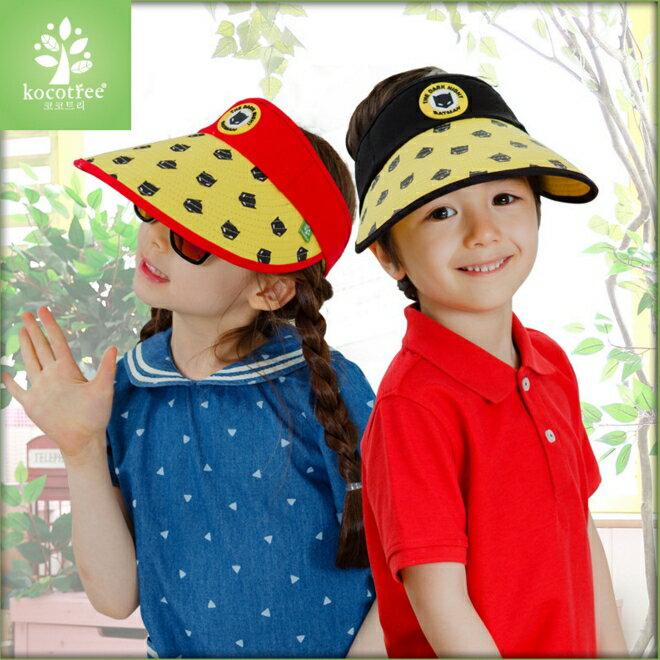 Kocotree◆時尚可愛卡通蝙蝠俠兒童親子款防曬透氣空頂遮陽帽