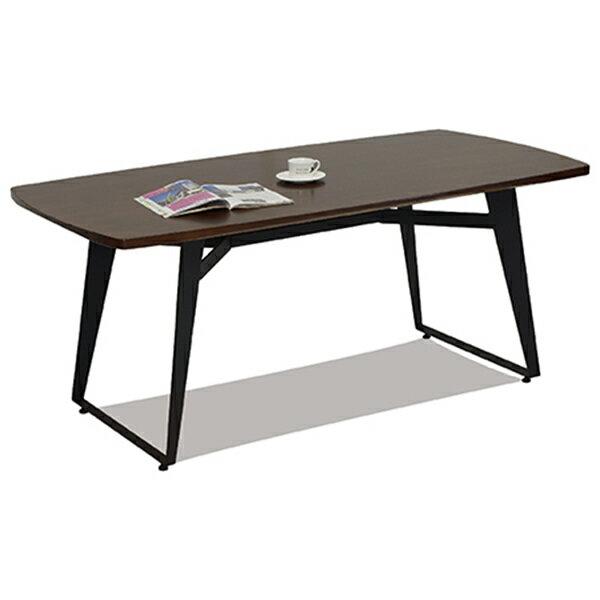工業風實木餐桌 0