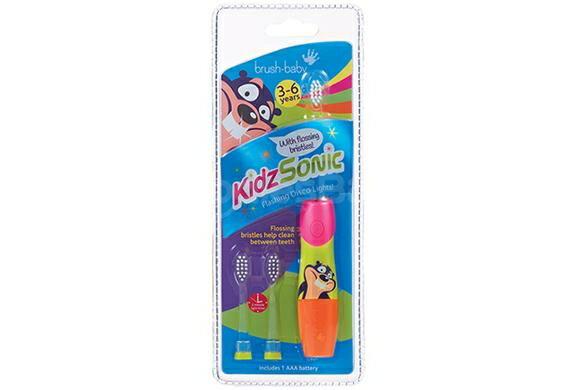 【brush baby】幼童聲波電動牙刷(3-6歲) - 限時優惠好康折扣