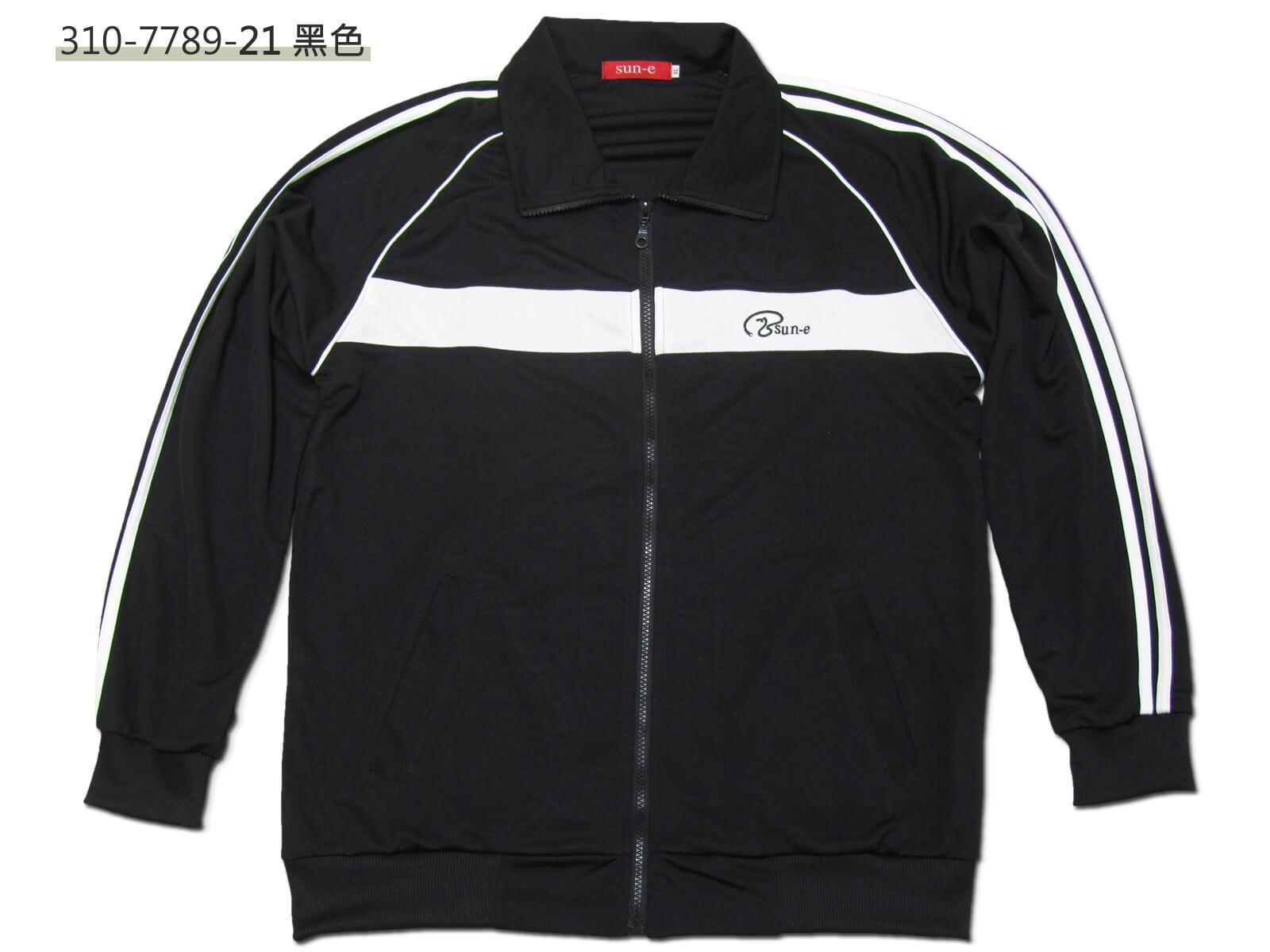 sun-e台灣製吸濕排汗薄外套、運動外套、單層薄外套、防曬外套、手臂配色織帶(310-7789-08)深藍色、(310-7789-21)黑色、(310-7789-22)深灰色 尺寸:L XL(胸圍:44~46英吋)(男女可穿) [實體店面保障] 3