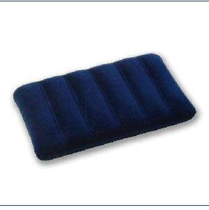美麗大街~CP106031104~INTEX立體舒適植絨充氣枕頭^~盒裝^~