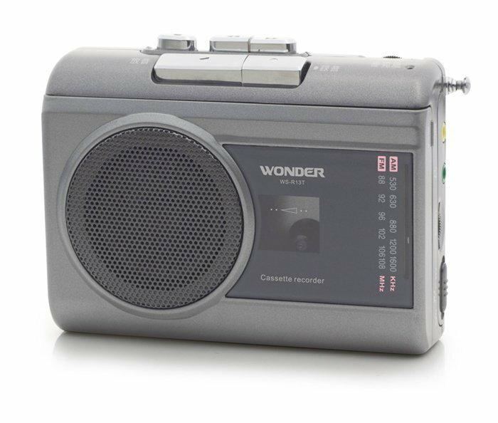 WONDER 旺德 卡帶式 錄放 隨身聽 WS-R13T