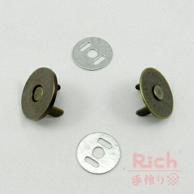 【原價30元,特價22元】古銅磁扣(薄)
