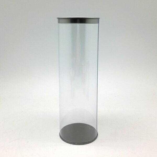 【60301】春仔花全透明圓桶精緻罐-長