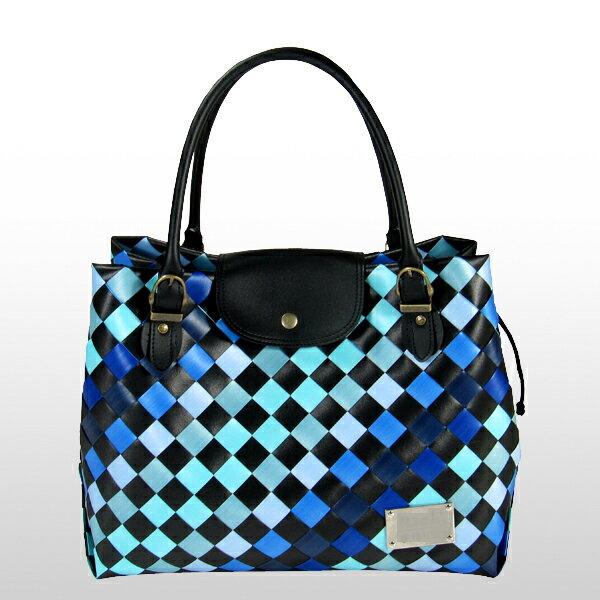 美型大方包-藍-材料包