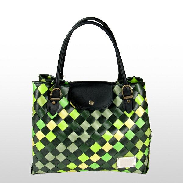 美型大方包-綠-材料包