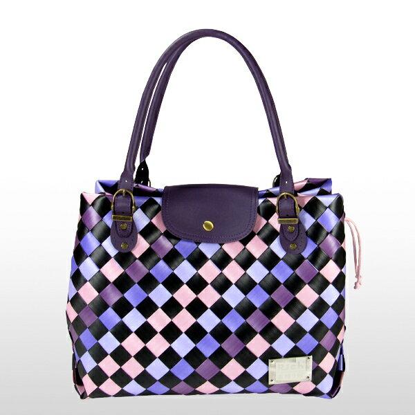 美型大方包-紫-材料包