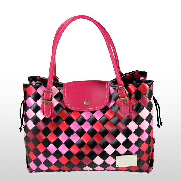 美型大方包-紅-材料包
