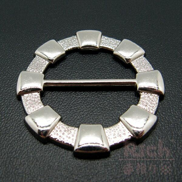 【原價30元,特價22元】扣環A02銀色5012