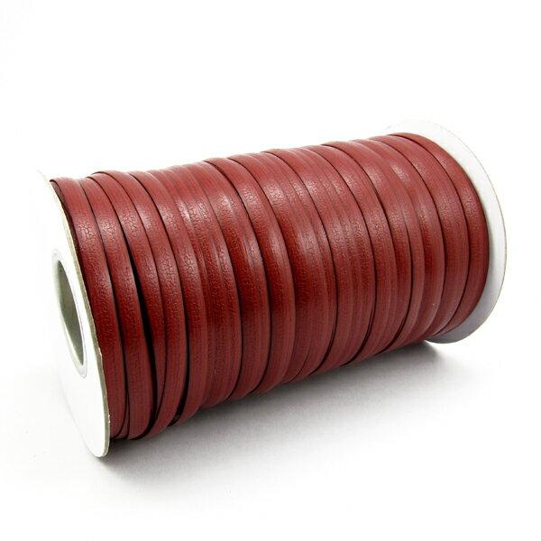 【T02】仿籐帶8mm-紅色-1公斤/捲