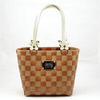 雙色俏麗包-磚色【材料包】波紋帶+珍珠帶 0