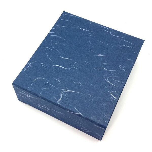 【60234】豪門麗緻典藏絲絨書型盒-藍.禮織工坊