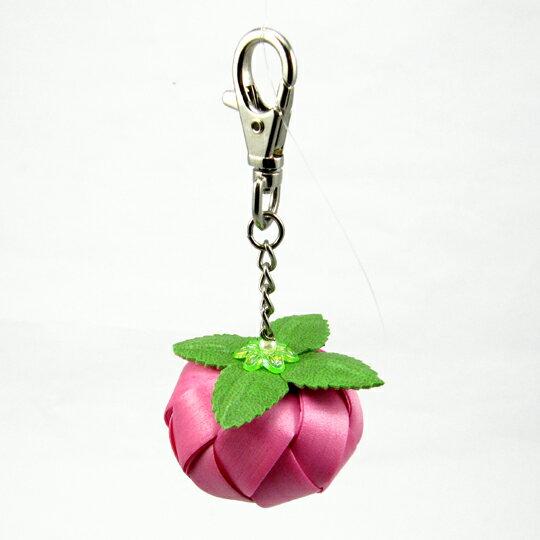 柿子吊飾-12mm-鑰匙圈【材料包】10色可選