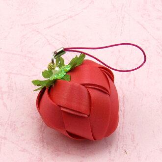 草莓吊飾-大-12mm-【材料包】多色可選