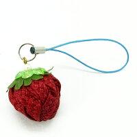 草莓吊飾-布感織帶 (B1單色/材料包) 0