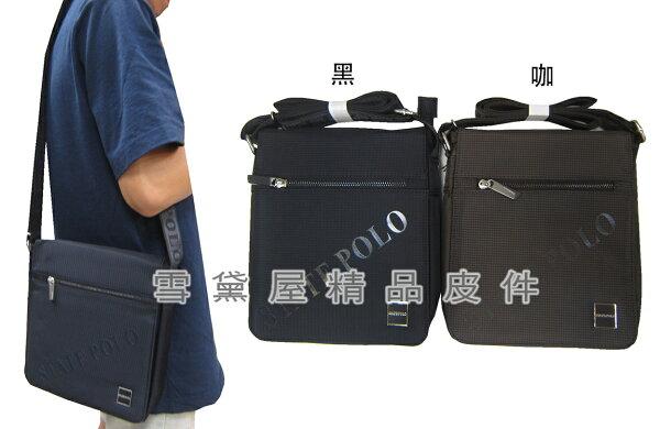 ~雪黛屋~SPYWALK肩側包小容量扁包設計隨身物品肩背可斜側背防水尼龍布材質輕巧設計全齡適用SD1773