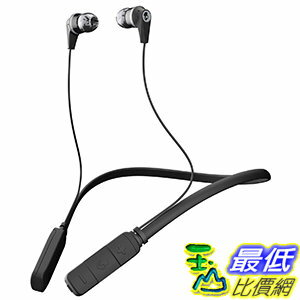 [106美國直購] 耳機 Skullcandy Ink'd Bluetooth B01DWHPJ94 Wireless Earbuds with Mic, Black (S2IKW-J509)