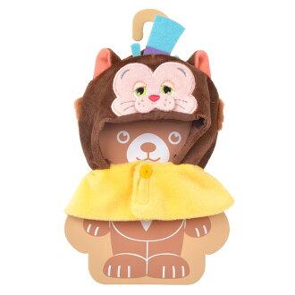 【真愛日本】17052600013 專賣店大學熊角色服裝-吉地安BAJ 迪士尼專賣店限定 娃娃衣服 裝飾