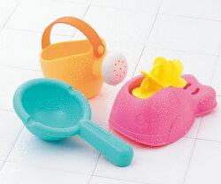 樂雅 Flex沙灘系列 歡樂水車組/沙灘玩具/洗澡玩具